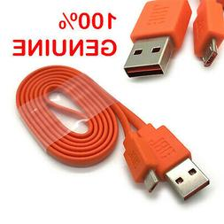 100% Original JBL USB Charger Cable Cord for Flip 4 3 2 Blue