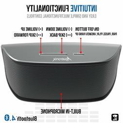 Alpatronix 10W Rechargeable Portable Mini Wireless Bluetooth