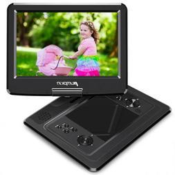 "13"" Portable DVD Player Swivel Screen Region Free Dual Speak"