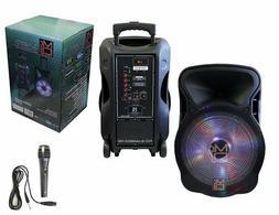 "15"" 2-way Powered Speaker with BLUETOOTH 3000 Watt Built-in"