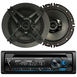 "2 Kenwood Coaxial 6.5"" Car Speakers, Pioneer Bluetooth CD US"