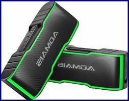 2 Pack AOMAIS Sport II Mini Portable Bluetooth Speakers Dual