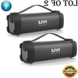 Pyle Portable Bluetooth Wireless Speaker, Rechargeable Batt