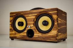 200Watts Bamboo Wireless Speaker Portable Thodio iBox XC Tig