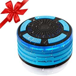 100% Certified Waterproof Bluetooth Speaker, Portable + Wire