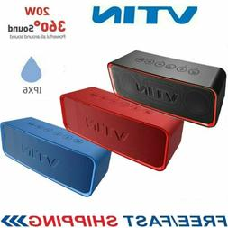 VTIN 20W Wireless Bluetooth Speaker Stereo Bass Waterproof S