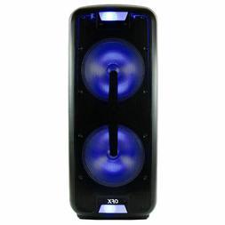 "2X12"" 8600W Portable Bluetooth Speaker Sub woofer Heavy Bass"