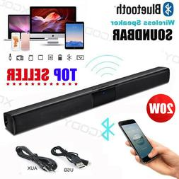 3D Surround Speakers Sound Bar System Wireless Bluetooth Sou