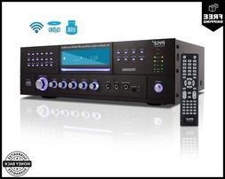 4 Channel Wireless Bluetooth Amplifier 3000 Watt Stereo Spea