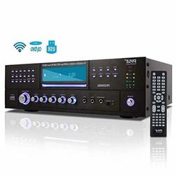 4 Channel Wireless Bluetooth Amplifier - 3000 Watt Stereo Sp