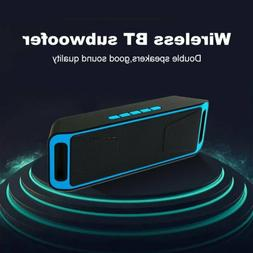 LOUD Bluetooth Speaker Wireless Waterproof Outdoor Stereo Su