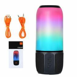 40w RGB LED Portable Wireless Bluetooth Speaker Waterproof B