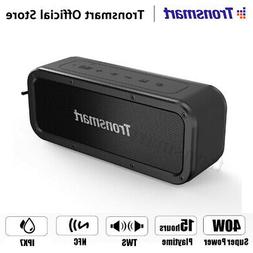 Tronsmart 40W TWS Wireless bluetooth Stereo Speaker IPX7 Wat