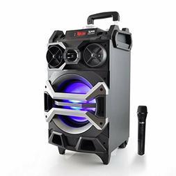 Pyle 500 Watt Outdoor Portable Bluetooth Karaoke Speaker Sys