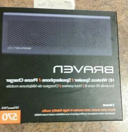 braven 570 wireless speaker Bluetooth phone charger NIB