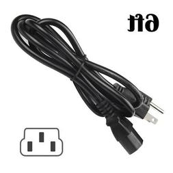 6ft Power Cord for QFX PBX-31120 RECHARGEABLE BATTERY POWERE