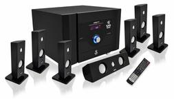 7.1 Channel Home Theater System Satellite Speakers Subwoofer