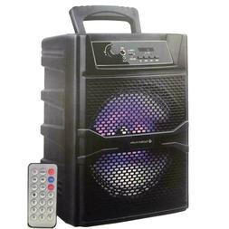 "8"" Bluetooth 1200 Watts Professional FM Radio Karaoke Multim"