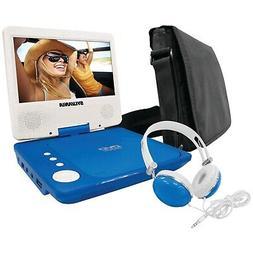 Sylvania SDVD7060-Combo-Blue 7-Inch Portable DVD Player Bund