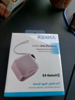 a3104 soundcore nano pocket bluetooth speaker new