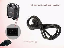 AC Power Cable Cord For Monster Rockin' Roller Portable Indo