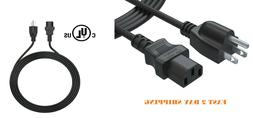 AC Power Cord 6ft 3 Prong For Ion Explorer Bluetooth Speaker