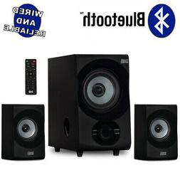 Acoustic Audio Home 2.1 Bluetooth 3 Speaker System for Multi
