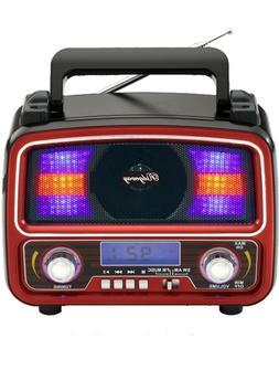 AM/FM Bluetooth Speaker Portable Outdoor Wireless Speakers w