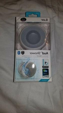 AUD Shower by Iluv- Ipx4 Rated Water Resistant Bluetooth Ena