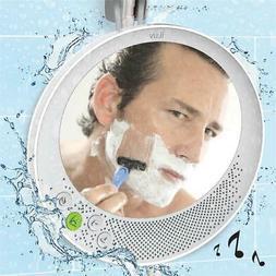 iLuv Aud Shower Mirror - Wireless Bluetooth Shower Speaker w