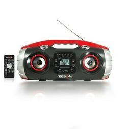 AXESS PBBT2709 Portable Bluetooth FM Radio/CD/MP3/USB/SD Hea