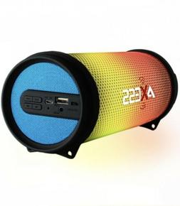 Blue Loud LED Portable Bluetooth Speaker HI-FI Heavy Bass/AU