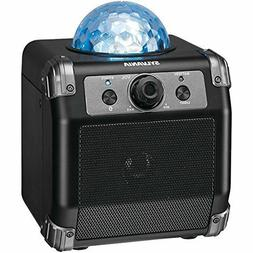 Bluetooth Boombox Rechargeable Party Speaker Multicolor LED