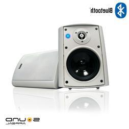 """Bluetooth 5.25"""" Indoor/Outdoor Weatherproof Patio Speakers -"""