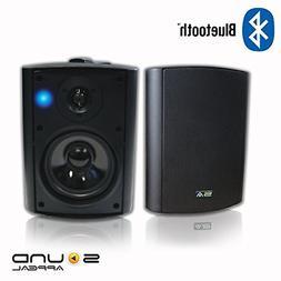 Bluetooth 5.25 Indoor/Outdoor Weatherproof Patio Speakers