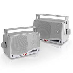 3.5 Inch Bluetooth Marine Speakers - 3 Way IP44 Waterproof a