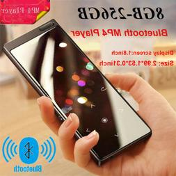 Bluetooth MP4 Player 8GB-256GB TF Card MP3 Player Speaker Wa