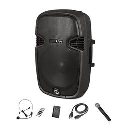 Pyle Bluetooth Portable PA Speaker System Wireless & Portabl