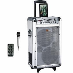 QFX Bluetooth Professional PA Speaker System FM USB/SD AUX-I