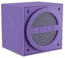 iHome Bluetooth Rechargeable Mini Speaker Cube - Purple IBT1