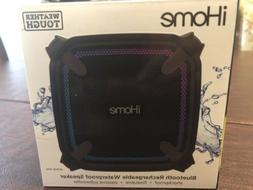 iHome bluetooth Rechargeable waterproof Speaker Color Black