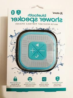 ATOMI Bluetooth Shower Speaker Water Resistant, Portable, Te