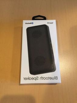Tzumi Bluetooth Speaker Black Rechargeable Battery Powerful