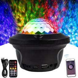 Bluetooth Speaker RGB LED Stage Light Strobe Disco Party DJ