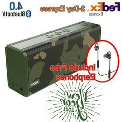 DOSS Bluetooth Speaker SoundBox Color Portable HD Sound Bass