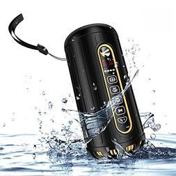 Syrinx Bluetooth Speaker Waterproof, Portable Outdoor Dustpr