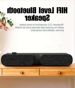 Bluetooth Speaker Wireless For Outdoor Stereo Bass Sound Bar