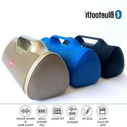 Bluetooth Speaker Wireless Super Bass Portable USB Radio FM