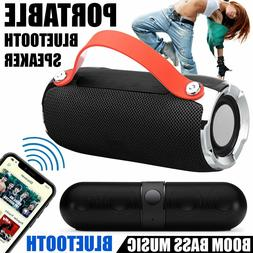 bluetooth speaker wireless waterproof outdoor stereo bass