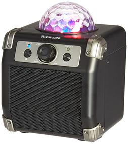 bluetooth speaker with disco ball top high